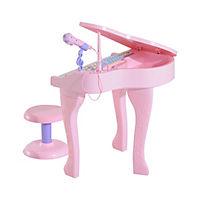 Kinderklavier inklusive Hocker (Farbe: rosa) - Produktdetailbild 1
