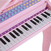 Kinderklavier inklusive Hocker (Farbe: rosa) - Produktdetailbild 6