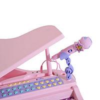 Kinderklavier inklusive Hocker (Farbe: rosa) - Produktdetailbild 5