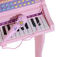 Kinderklavier inklusive Hocker (Farbe: rosa) - Produktdetailbild 7