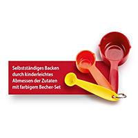 Kinderleichte Becherküche - Kleine Gerichte ganz groß!, m. Messbecher-Set 3-tlg. - Produktdetailbild 1