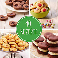 Kinderleichte Becherküche - Plätzchen, Kekse, Cookies & Co., m. Messbecher-Set 3-tlg. - Produktdetailbild 4