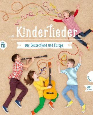 Kinderlieder aus Deutschland und Europa, m. Audio-CD, Jan von Holleben