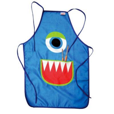 Kinderschürze Monster zum Malen und Basteln