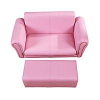 Kindersofa (Farbe: rosa) - Produktdetailbild 4
