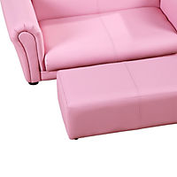 Kindersofa (Farbe: rosa) - Produktdetailbild 5