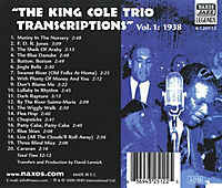 King Cole Trio Transcriptions - Produktdetailbild 1