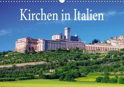 Kirchen in Italien (Wandkalender 2019 DIN A3 quer), k.A. LianeM