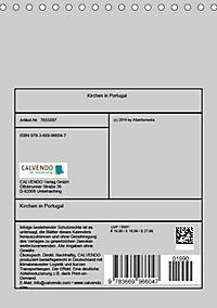 Kirchen in Portugal (Tischkalender 2019 DIN A5 hoch) - Produktdetailbild 13