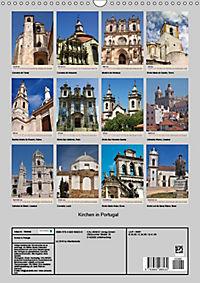 Kirchen in Portugal (Wandkalender 2019 DIN A3 hoch) - Produktdetailbild 13