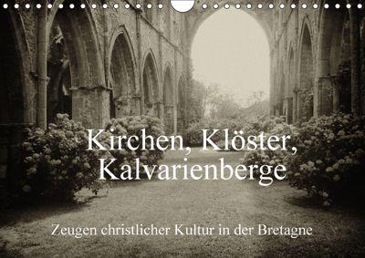 Kirchen, Klöster, Kalvarienberge (Wandkalender 2018 DIN A4 quer), Gudrun Nitzold-Briele