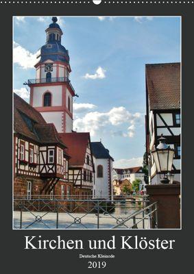 Kirchen und Klöster deutsche Kleinode (Wandkalender 2019 DIN A2 hoch), Andrea Janke