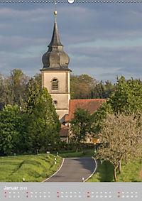 Kirchentürme in Franken (Wandkalender 2019 DIN A2 hoch) - Produktdetailbild 1
