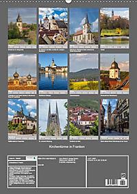 Kirchentürme in Franken (Wandkalender 2019 DIN A2 hoch) - Produktdetailbild 13