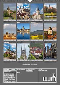 Kirchentürme in Franken (Wandkalender 2019 DIN A3 hoch) - Produktdetailbild 13