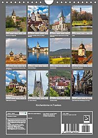 Kirchentürme in Franken (Wandkalender 2019 DIN A4 hoch) - Produktdetailbild 13