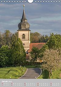Kirchentürme in Franken (Wandkalender 2019 DIN A4 hoch) - Produktdetailbild 1