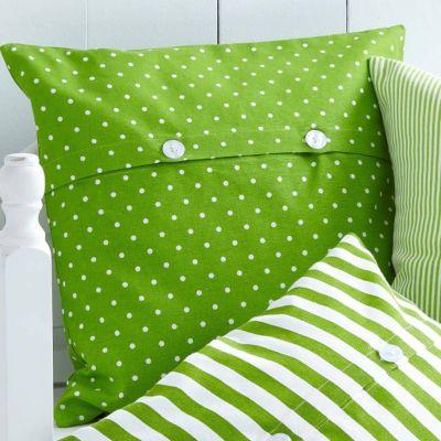kissenh lle corona gr n muster gepunktet. Black Bedroom Furniture Sets. Home Design Ideas