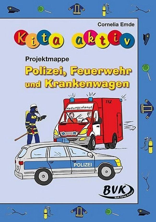 kita aktiv projektmappe polizei feuerwehr und