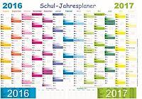 Wandkalender personal und urlaubsplaner 2017 kalender for Wand jahresplaner 2017