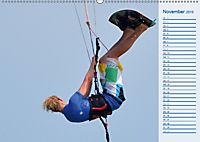 Kitesurfen - Wind und Wellen (Wandkalender 2019 DIN A2 quer) - Produktdetailbild 11
