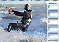 Kitesurfen - Wind und Wellen (Wandkalender 2019 DIN A2 quer) - Produktdetailbild 12