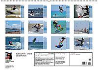 Kitesurfen - Wind und Wellen (Wandkalender 2019 DIN A2 quer) - Produktdetailbild 13