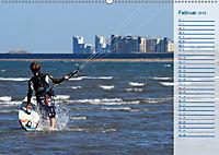 Kitesurfen - Wind und Wellen (Wandkalender 2019 DIN A2 quer) - Produktdetailbild 2