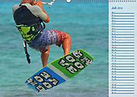 Kitesurfen - Wind und Wellen (Wandkalender 2019 DIN A2 quer) - Produktdetailbild 7