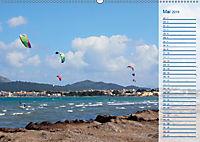 Kitesurfen - Wind und Wellen (Wandkalender 2019 DIN A2 quer) - Produktdetailbild 5