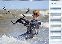 Kitesurfen - Wind und Wellen (Wandkalender 2019 DIN A2 quer) - Produktdetailbild 6