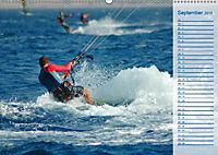 Kitesurfen - Wind und Wellen (Wandkalender 2019 DIN A2 quer) - Produktdetailbild 9