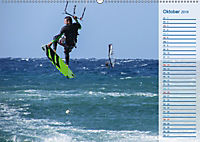 Kitesurfen - Wind und Wellen (Wandkalender 2019 DIN A2 quer) - Produktdetailbild 10
