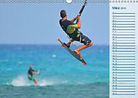 Kitesurfen - Wind und Wellen (Wandkalender 2019 DIN A3 quer) - Produktdetailbild 3