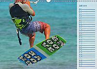 Kitesurfen - Wind und Wellen (Wandkalender 2019 DIN A3 quer) - Produktdetailbild 10
