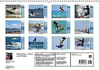 Kitesurfen - Wind und Wellen (Wandkalender 2019 DIN A3 quer) - Produktdetailbild 11