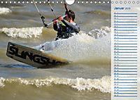 Kitesurfen - Wind und Wellen (Wandkalender 2019 DIN A4 quer) - Produktdetailbild 1