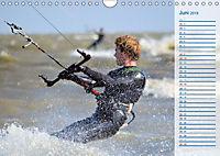 Kitesurfen - Wind und Wellen (Wandkalender 2019 DIN A4 quer) - Produktdetailbild 6