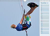 Kitesurfen - Wind und Wellen (Wandkalender 2019 DIN A4 quer) - Produktdetailbild 11