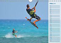 Kitesurfen - Wind und Wellen (Wandkalender 2019 DIN A4 quer) - Produktdetailbild 3