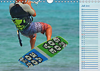 Kitesurfen - Wind und Wellen (Wandkalender 2019 DIN A4 quer) - Produktdetailbild 7