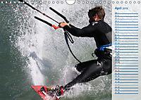 Kitesurfen - Wind und Wellen (Wandkalender 2019 DIN A4 quer) - Produktdetailbild 4