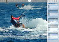 Kitesurfen - Wind und Wellen (Wandkalender 2019 DIN A4 quer) - Produktdetailbild 9