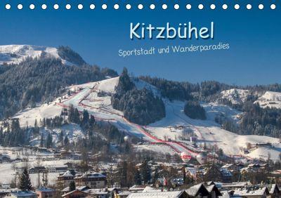 Kitzbühel, Sportstadt und Wanderparadies (Tischkalender 2019 DIN A5 quer), Peter Überall