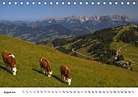 Kitzbühel, Sportstadt und Wanderparadies (Tischkalender 2019 DIN A5 quer) - Produktdetailbild 8