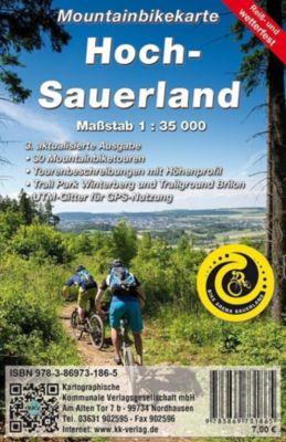 KKV Mountainbikekarte Hoch-Sauerland