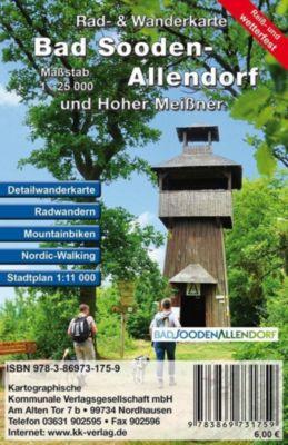 KKV Rad- und Wanderkarte Bad Sooden-Allendorf und Hoher Meißner -  pdf epub