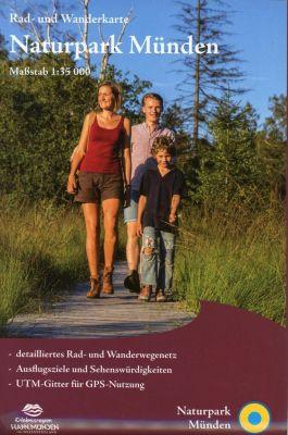 KKV Rad- und Wanderkarte Naturpark Münden