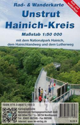 KKV Rad- und Wanderkarte Unstrut-Hainich-Kreis