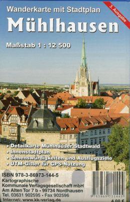 KKV Stadtplan Mühlhausen